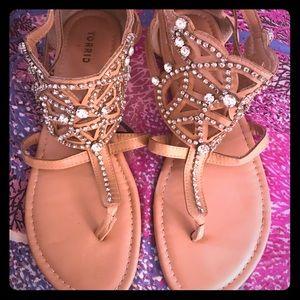 Torrid cute sparkly sandals